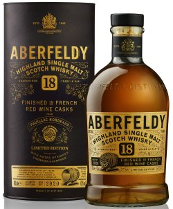 Aberfeldy 18 Year Old French Wine Cask Finish