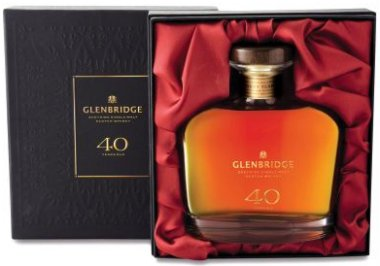 Aldi 40 Year Old Glenbridge Speyside Whisky