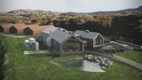 Sliabh Liag Distillers Ardara Distillery and Warehousing Donegal (artists impression)