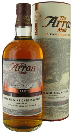Arran Tuscan Wine Cask Matured Royal Mile Whiskies Exclusive