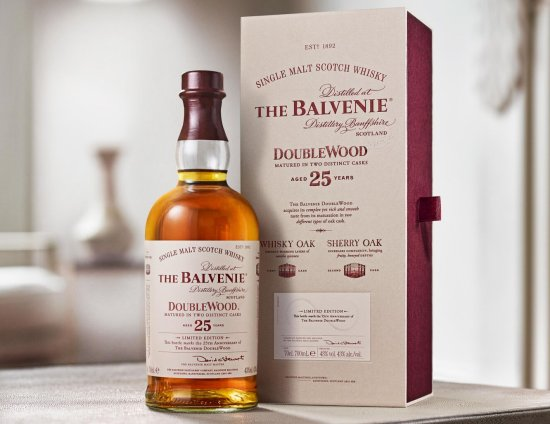 The Balvenie DoubleWood 25 Year Old 25th Anniversary Edition