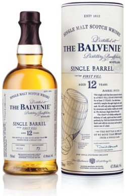 The Balvenie 12 Year Old Single Barrel First Fill.