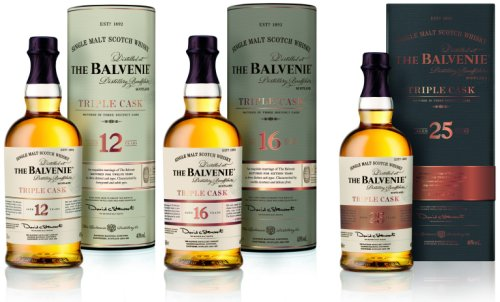 The Balvenie Triple Cask 12, 16 & 25 Year Old