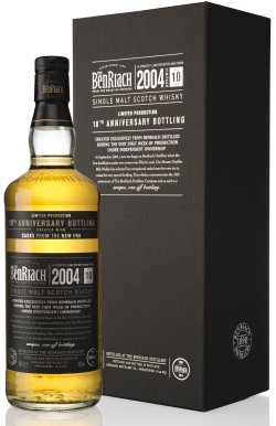 BenRiach 10th Anniversary 2004 10 Year Old