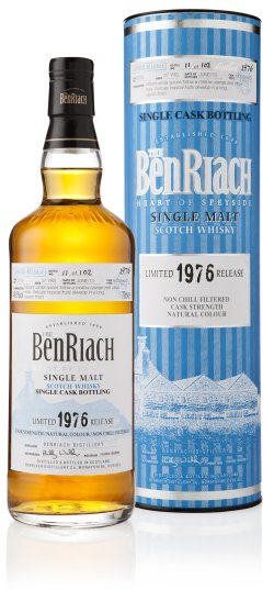 BenRiach 1976 cask no. 2013 37 year old