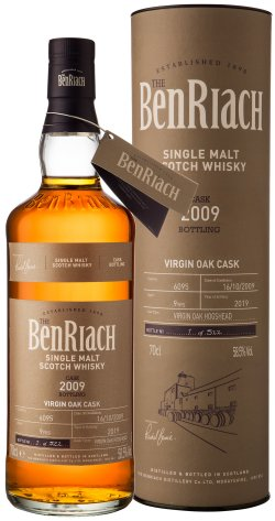 BenRiach 2009 Cask No. 6095 9 Year Old