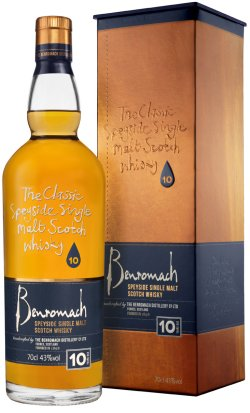 Benromach 10 Year Old has been crowned the winner in the 12 Years & Under category at the Spirit of Speyside Whisky Awards 2019