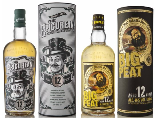 Big Peat 12 Year Old and The Epicurean 12 Year Old