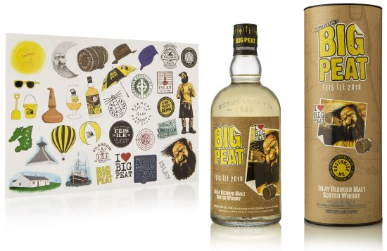 Big Peat Feis Ile 2018 Edition and stickers.