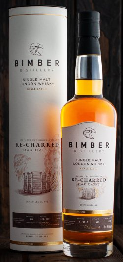 Bimber Re-charred Oak Casks