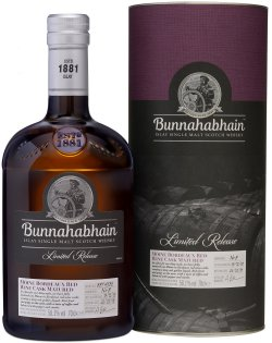 Bunnahabhain 2008 9 Year Old Mòine Bordeaux Red Wine Cask