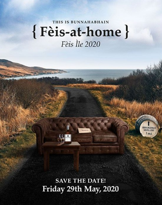 Bunnahabhain Virtual 'Feis at Home' Feis Ile 2020
