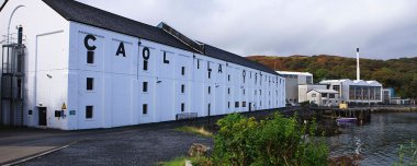 Caol Ila distillery Islay