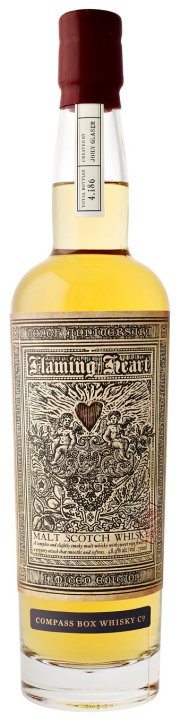 Compass Box Flaming Heart 10th Anniversary Bottling