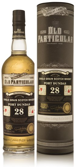 Old Particular Consortium of Cards The Crackerjack Port Dundas 28 Year Old