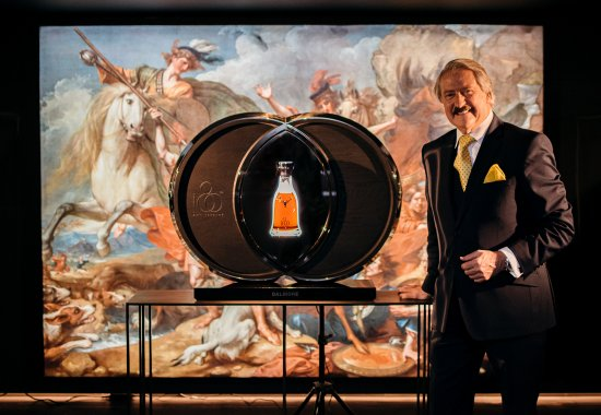 Richard Paterson with The Dalmore 60 Year Old 180th Anniversary bottling.