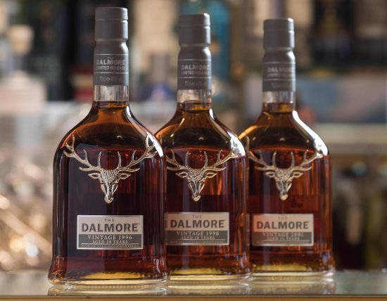 The Dalmore Vintage Port Collection 1996, 1998, 2001. Photo Credit David Parry