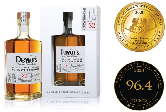 International Whisky Competition Whisky of the Year John Dewar and Sons Double Double 32 Year Old