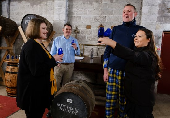 Doddie Weir selects Glenkinchie single malt for My Name5 Doddie Foundation