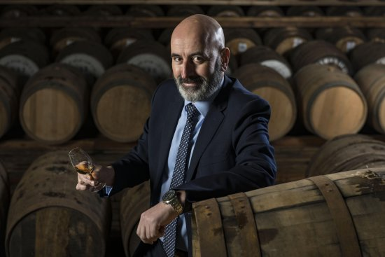 Ewen Mackintosh, Managing Director, Speymalt Whisky Distributors Ltd