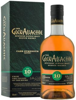 The Glenallachie 10 Year Old Cask Strength Batch 1
