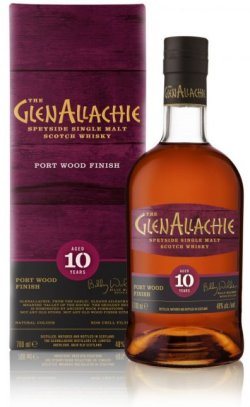 The GlenAllachie 10 Year Old Port Wood Finish