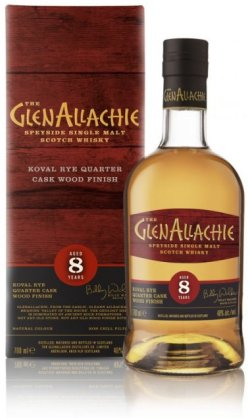 GlenAllachie 8 Year Old Koval Rye Quarter Cask Wood Finish