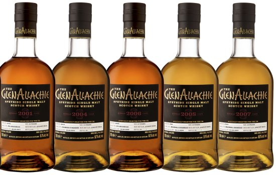 The GlenAllachie UK Exclusive Single Cask Collection