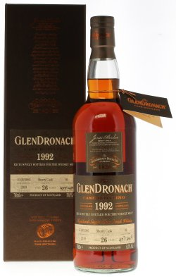 The GlenDronach 1992 26 Year Old The Whisky Shop Exclusive
