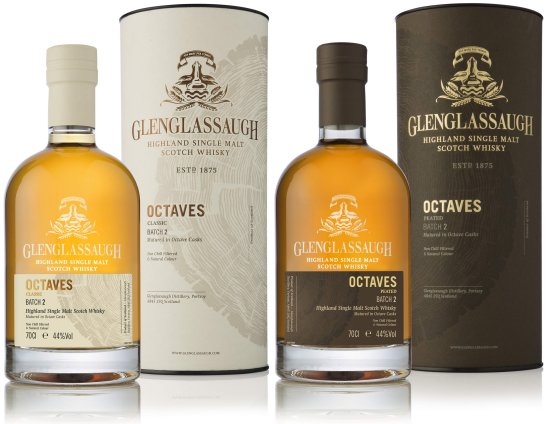 Glenglassaugh Octaves Classic and Octaves Peated Batch 2