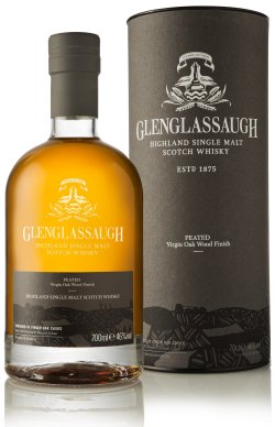 Glenglassaugh Peated Virgin Oak Wood Finish