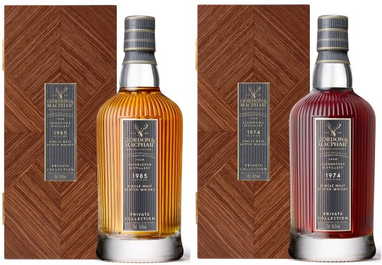 Gordon & MacPhail 'Private Collection' Inverleven 1985 33 Year Old and Glenrothes 1974 44 Year Old