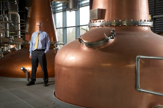 InchDairnie Distillery - MD Ian Palmer and the unique Lomond Hill still
