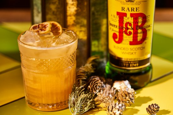 J & B Rare Review And 'A Rare Discovery' Christmas Cocktail