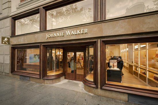 Johnnie Walker Experiential Retail Store In Madrid