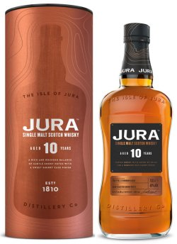 New Jura 10 Year Old Oloroso sherry finished whisky.