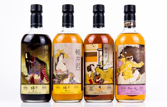 Karuizawa Ghost Series attracted  a lot of attention in the Karuizawa whisky auction.