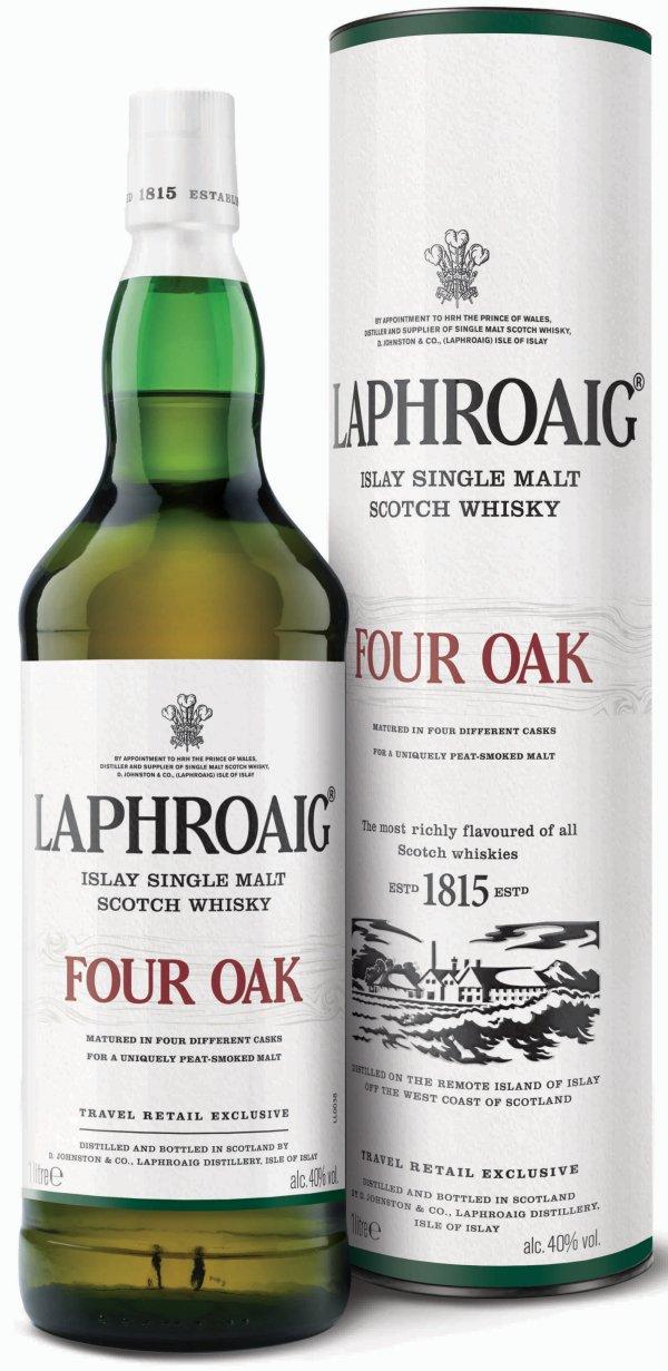 Image result for laphroaig four oak