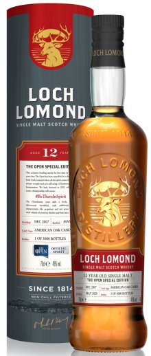 Loch Lomond 12 Year Old The Open Special Edition 2020 #BeThereInSpirit
