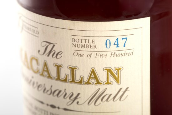 The Macallan continues to dominate the secondary whisky market.