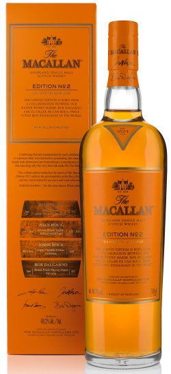 macallan edition no 3 auction