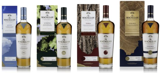 Macallan Quest Collection Travel Retail Exclusive