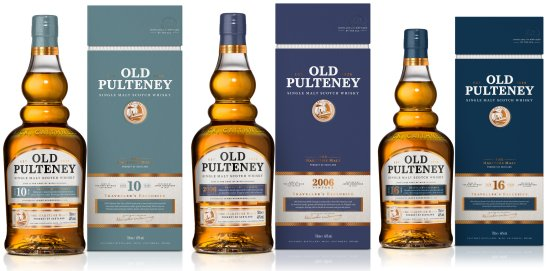 Old Pulteney Unveils Travel Retail Exclusive Collection 2018