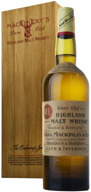 New limited edition replica of Shackleton Mackinlay's Rare Old Highland Malt Whisky