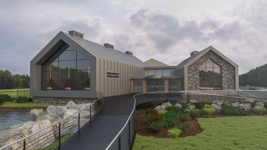 Sliabh Liag Distillers Ardara Distillery Donegal (artists impression)