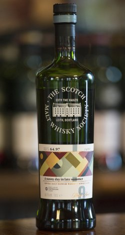Mannochmore SMWS Cask No. 64.97: A sunny day in late summer available by the dram in 100 partner bars across 21 countries.