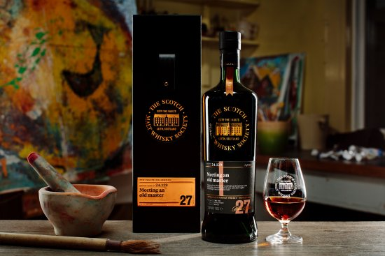 SMWS Cask No. 24.129 Macallan 27 year old - Credit - Peter Dibdin