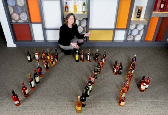 Scotch Whisky Association Julie Hesketh-Laird urges the government to reduce current tax of 77% on an average priced bottle of Scotch.