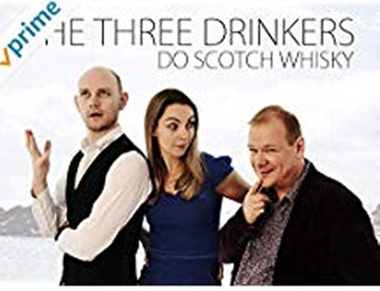 Deanston distillery is the setting for the Amazon Prime show 'The Three Drinkers Do Scotch Whisky'