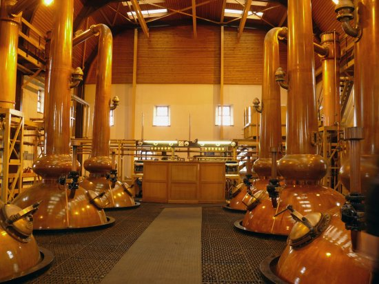 Tobermory Stillhouse. The Tobermory stills will be replaced but the production capacity will not be increased.